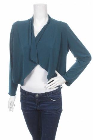Дамска жилетка Dresses Unlimited, Размер M, Цвят Зелен, 95% полиестер, 5% еластан, Цена 26,35лв.