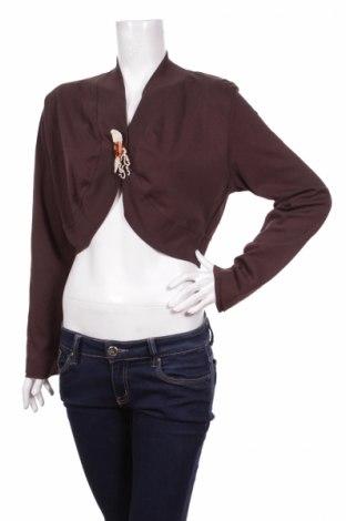 Дамска жилетка X-Mail, Размер XL, Цвят Кафяв, Памук, Цена 6,75лв.