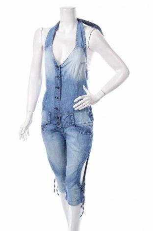 Salopetă jeans de femei Franco Ferucci
