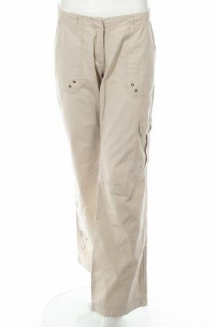 Дамски панталон Amisu, Размер M, Цвят Бежов, Памук, Цена 6,67лв.