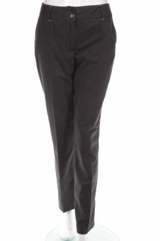 Дамски панталон Andrews, Размер S, Цвят Сив, 64% полиестер, 33% вискоза, 3% еластан, Цена 8,60лв.