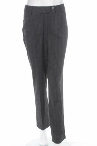 Дамски панталон Cecilia Classics, Размер M, Цвят Сив, 63% полиестер, 34% вискоза, 3% еластан, Цена 8,74лв.