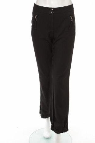 Дамски панталон KappAhl, Размер XS, Цвят Черен, 63% полиестер, 32% вискоза, 5% еластан, Цена 9,13лв.