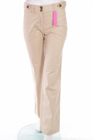 Дамски панталон Massimo Dutti, Размер M, Цвят Бежов, Памук, Цена 9,58лв.