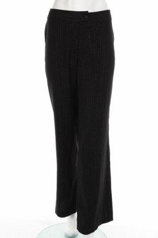 Дамски панталон Now On, Размер S, Цвят Черен, Полиестер, Цена 15,41лв.