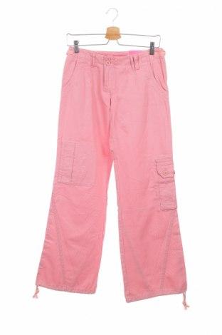Дамски панталон Q/S by S.Oliver, Размер S, Цвят Розов, 100% памук, Цена 10,74лв.