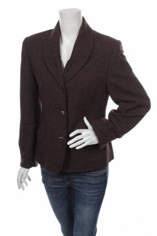 Дамско сако Moda Aliss, Размер M, Цвят Кафяв, 65% вълна, 35% акрил, Цена 5,40лв.