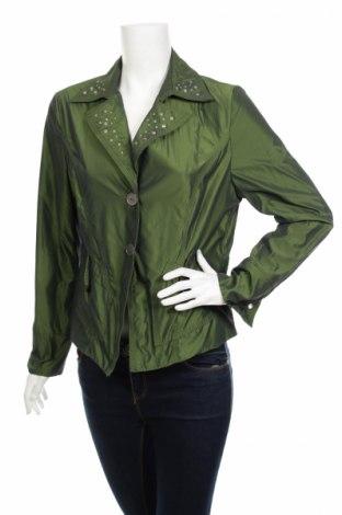 Дамско яке Jh, Размер L, Цвят Зелен, 63% полиамид, 37% полиестер, Цена 10,60лв.