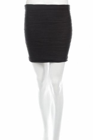 Пола Amisu, Размер XS, Цвят Черен, 95% полиестер, 5% еластан, Цена 6,67лв.