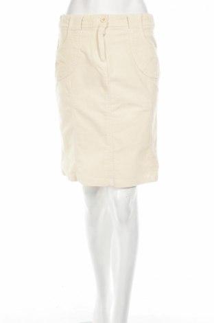 Пола Amisu, Размер S, Цвят Бежов, 97% памук, 3% еластан, Цена 10,42лв.