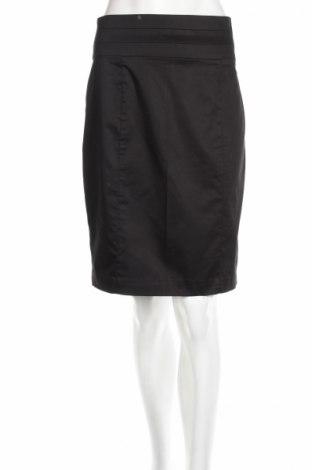 Пола H&M, Размер M, Цвят Черен, 97% памук, 3% еластан, Цена 8,74лв.