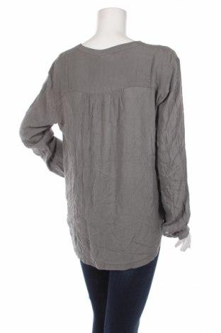 Дамска блуза Kaffe, Размер XL, Цвят Сив, Вискоза, Цена 39,00лв.