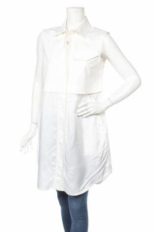 Дамска риза T By Alexander Wang, Размер M, Цвят Бял, Памук, еластан, вискоза, Цена 865,50лв.