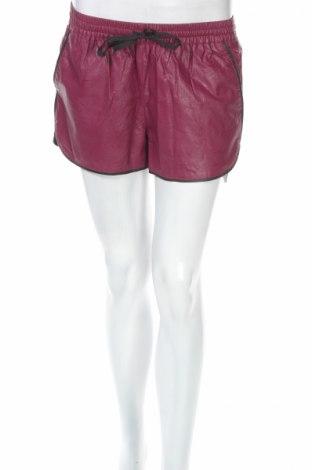 Дамски къс кожен панталон Silvian Heach