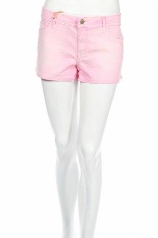 Дамски къс панталон Amy Gee, Размер XL, Цвят Розов, 66% памук, 32% полиестер, 2% еластан, Цена 14,70лв.