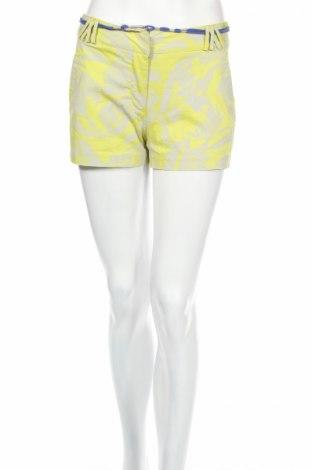 Дамски къс панталон Eleven Paris, Размер XS, Цвят Зелен, 98% памук, 2% еластан, Цена 45,58лв.