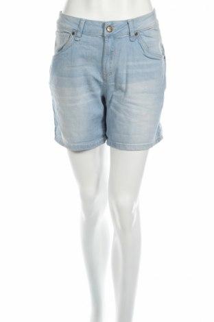 Дамски къс панталон Pepe Jeans, Размер L, Цвят Син, 98% памук, 2% еластан, Цена 33,00лв.