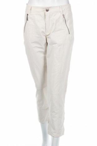 Γυναικείο παντελόνι Carla Du Nord, Μέγεθος M, Χρώμα Λευκό, 59% βαμβάκι, 37% πολυαμίδη, 4% ελαστάνη, Τιμή 5,63€