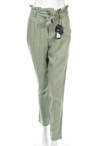 Pantaloni de femei Vero Moda, Mărime S, Culoare Verde, Lyocell, Preț 63,21 Lei