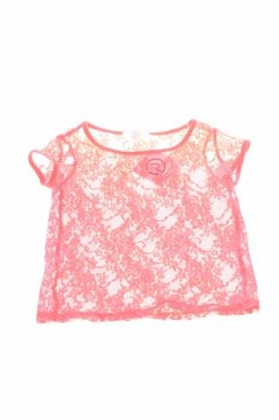 Детска блуза Charles Vogele, Размер 7-8y/ 128-134 см, Цвят Оранжев, Цена 3,25лв.