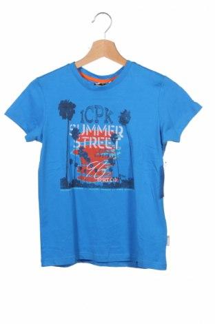Детска тениска Icepeak, Размер 9-10y/ 140-146 см, Цвят Син, Памук, Цена 31,20лв.