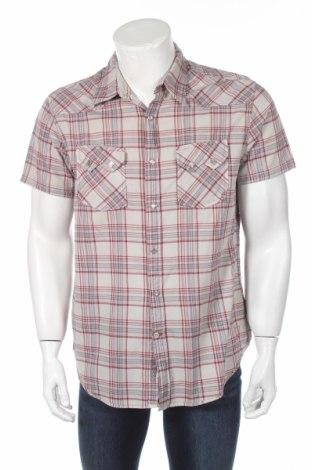 Мъжка риза Guess, Размер L, Цвят Многоцветен, Памук, Цена 11,70лв.