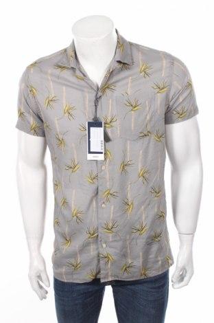 Pánska košeľa  Premium By Jack & Jones, Veľkosť L, Farba Sivá, 55% bavlna, 45% viskóza, Cena  7,50€