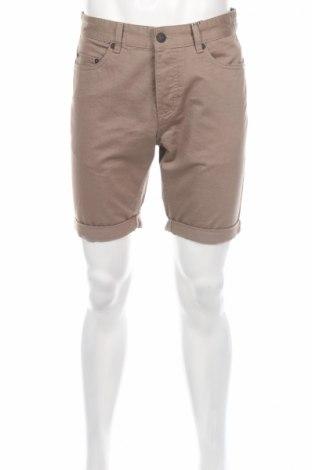 Pantaloni scurți de bărbați Only & Sons, Mărime M, Culoare Maro, Bumbac, Preț 35,56 Lei