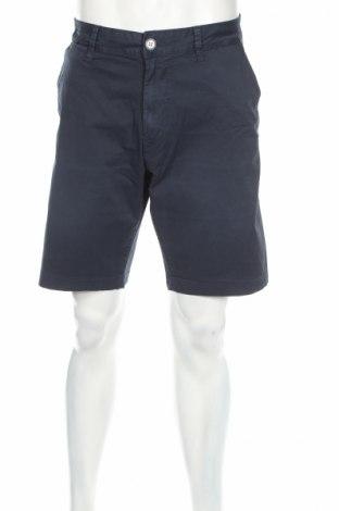 Pantaloni scurți de bărbați Pepe Jeans, Mărime XL, Culoare Albastru, 98% bumbac, 2% elastan, Preț 98,89 Lei