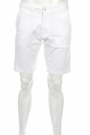 Мъжки къс панталон Pepe Jeans, Размер M, Цвят Бял, 98% памук, 2% еластан, Цена 42,72лв.