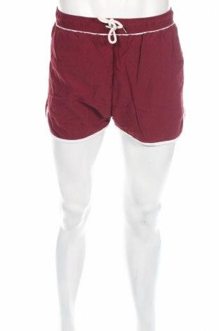 Мъжки къс панталон Selected Homme, Размер L, Цвят Червен, Полиамид, Цена 16,96лв.