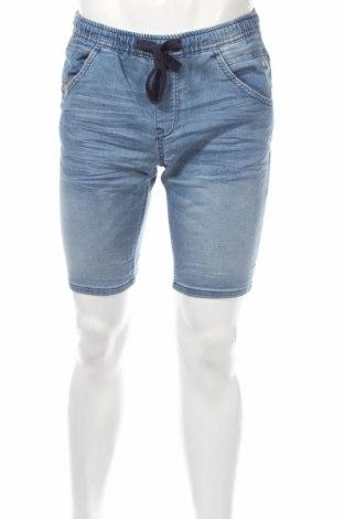 Мъжки къс панталон Tom Tailor, Размер S, Цвят Син, 89% памук, 10% полиестер, 1% еластан, Цена 19,47лв.