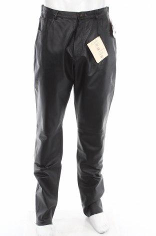 Ανδρικό δερμάτινο παντελόνι Avitano