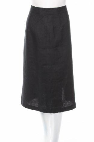 Пола Berwin & Wolff, Размер M, Цвят Черен, 100% лен, Цена 43,23лв.