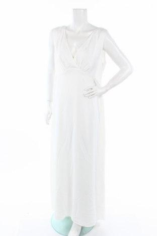 Рокля Esprit, Размер XL, Цвят Бял, Полиестер, Цена 22,00лв.