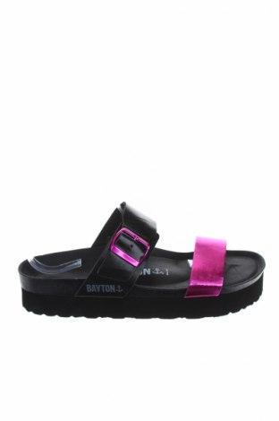 Γυναικείες παντόφλες Bayton, Μέγεθος 39, Χρώμα Μαύρο, Δερματίνη, Τιμή 26,47€