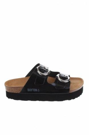 Γυναικείες παντόφλες Bayton, Μέγεθος 37, Χρώμα Μαύρο, Δερματίνη, Τιμή 26,47€