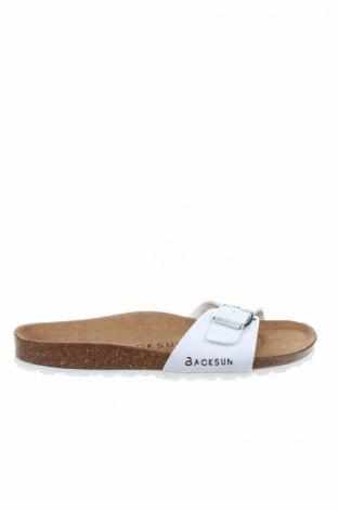 Γυναικείες παντόφλες Bayton, Μέγεθος 37, Χρώμα Λευκό, Δερματίνη, Τιμή 25,65€