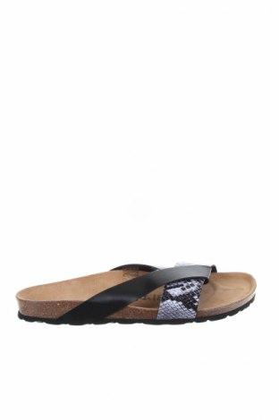 Γυναικείες παντόφλες Bayton, Μέγεθος 40, Χρώμα Μαύρο, Δερματίνη, Τιμή 23,62€
