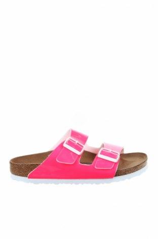 Γυναικείες παντόφλες Birkenstock, Μέγεθος 38, Χρώμα Ρόζ , Δερματίνη, Τιμή 32,51€