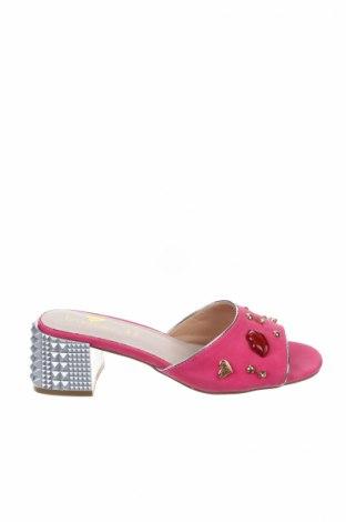 Γυναικείες παντόφλες Braccialini, Μέγεθος 37, Χρώμα Ρόζ , Κλωστοϋφαντουργικά προϊόντα, δερματίνη, Τιμή 70,76€