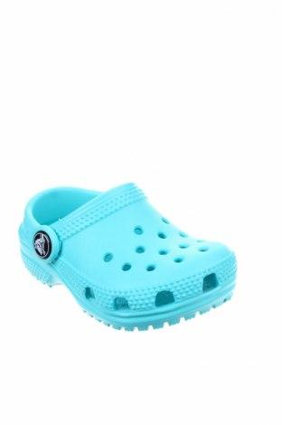 Γυναικείες παντόφλες Crocs, Μέγεθος 20, Χρώμα Μπλέ, Πολυουρεθάνης, Τιμή 19,16€