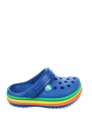 Γυναικείες παντόφλες Crocs, Μέγεθος 19, Χρώμα Μπλέ, Πολυουρεθάνης, Τιμή 19,16€