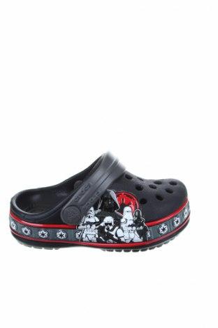Чехли Crocs, Размер 19, Цвят Черен, Полиуретан, Цена 26,55лв.