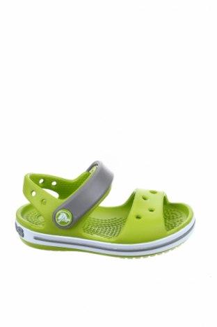 Παιδικά σανδάλια Crocs, Μέγεθος 20, Χρώμα Πράσινο, Πολυουρεθάνης, Τιμή 17,64€