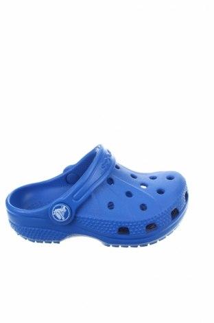 Γυναικείες παντόφλες Crocs, Μέγεθος 22, Χρώμα Μπλέ, Πολυουρεθάνης, Τιμή 20,63€