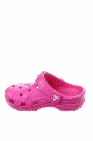 Γυναικείες παντόφλες Crocs, Μέγεθος 22, Χρώμα Ρόζ , Πολυουρεθάνης, Τιμή 21,34€