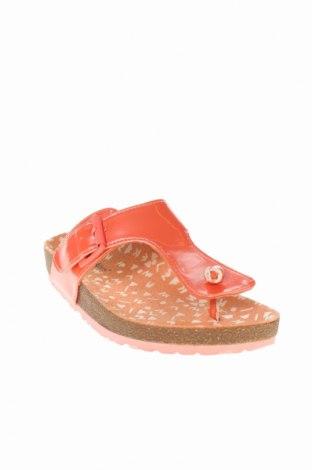 Γυναικείες παντόφλες Kickers, Μέγεθος 32, Χρώμα Ρόζ , Δερματίνη, Τιμή 19,16€