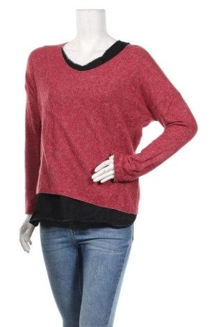Дамска блуза, Размер M, Цвят Розов, 80% вискоза, 20% вълна, Цена 25,20лв.