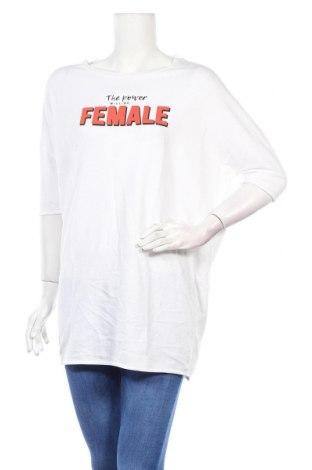 Дамска блуза Alcott, Размер L, Цвят Бял, Памук, Цена 13,92лв.